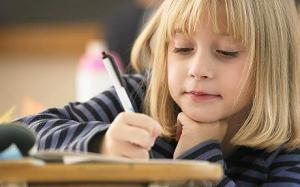 child_writing
